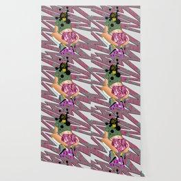 sK8 or DIE - 90's Roller Derby Girl Digital Drawing Wallpaper