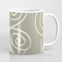 Spiral mural green Coffee Mug