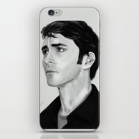 lee pace iPhone & iPod Skins featuring Lee by Katie Arts