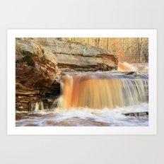 Bonanza Falls Art Print