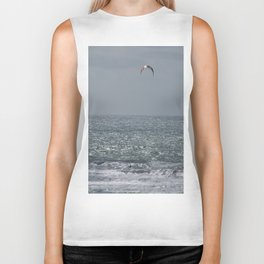 Surfing with the wind Biker Tank