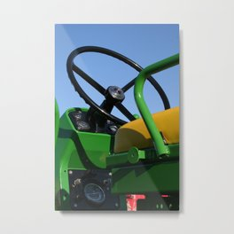 JD - In the Driver's Seat Metal Print