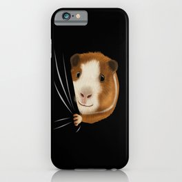 Guinea Pig Animal Coming From Inside iPhone Case
