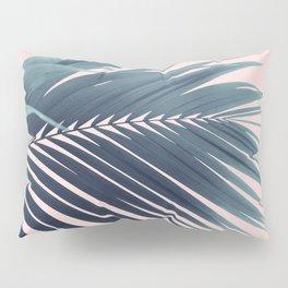 Palm Leaf Blush Vibes #1 #tropical #decor #art #society6 Pillow Sham