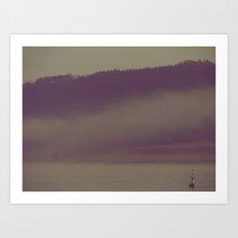 A Buoy Alone Art Print