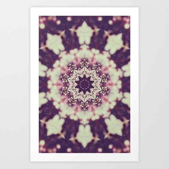 Abraham Vehicle Mandala Art Print