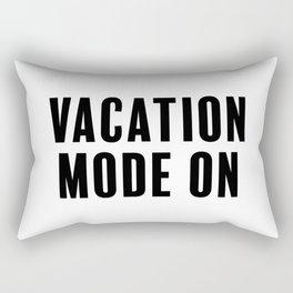 Vacation Mode On Rectangular Pillow