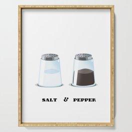 Salt & Pepper Serving Tray