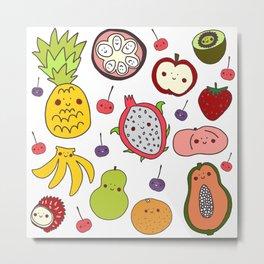Tutti Frutti Metal Print