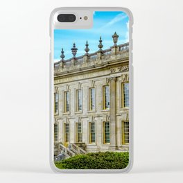 Chatsworth House. Clear iPhone Case