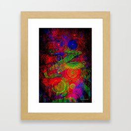 Meditation Station Framed Art Print