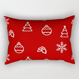 The Christmas Pattern I Rectangular Pillow
