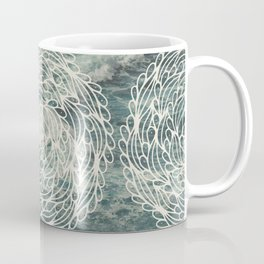 Mandala Ocean Waves Coffee Mug