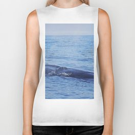 Tropical whale: The Bryde´s whale Biker Tank