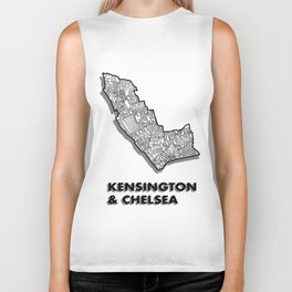 Kensington & Chelsea - London Borough - Detailed Biker Tank