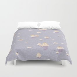 Puffinry Duvet Cover