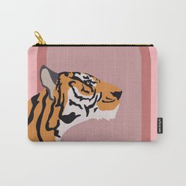 Tiger in the Window Carry-All Pouch
