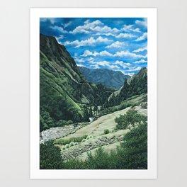 Chugchilán I Art Print
