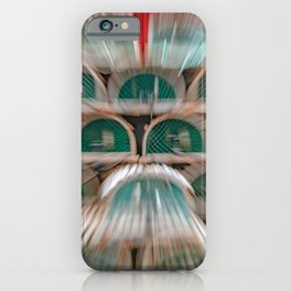 New Harbour Lobster Traps iPhone Case