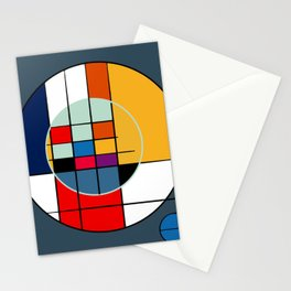 abstract art geometric Stationery Cards