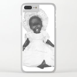 Pinafore and Bonnet Clear iPhone Case