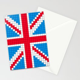 Union Jack by Qixel Stationery Cards