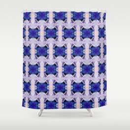 If You Please (Abstract Painting) Shower Curtain