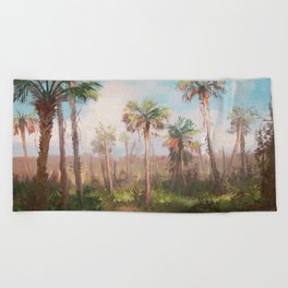 Heart of the Everglades Beach Towel
