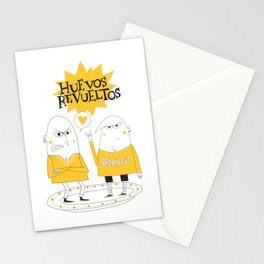 Huevos Revueltos Stationery Cards
