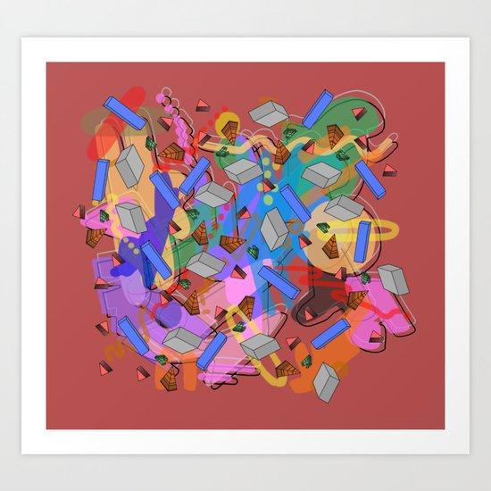 Muraka Art Print