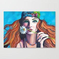 Colour Me Hippie Canvas Print