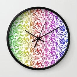 Joshua Tree ArcoBlanco by CREYES Wall Clock