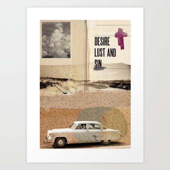 TEMPTATIONS// Art Print