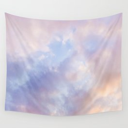 Pink sky / Photo of heavenly sky Wall Tapestry