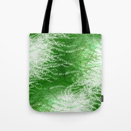 Wind-whipped Vines (green) Tote Bag