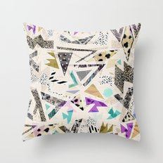 HECTIC Throw Pillow