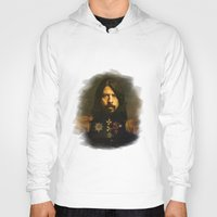 bruce springsteen Hoodies featuring Dave Grohl - replaceface by replaceface