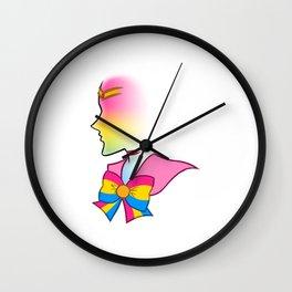 Pride Otaku Senshi - Pansexuality Wall Clock