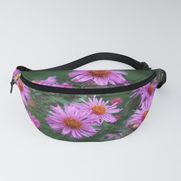 New England Asters Fanny Pack