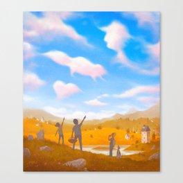 Cloud Spotting Canvas Print