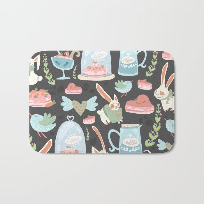Bunny World Bath Mat