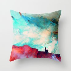 Xénē (Abstract 46) Throw Pillow