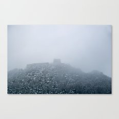 Mystical castle ruin Canvas Print