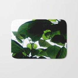 Greenery Abstract Bath Mat