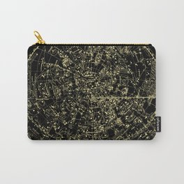 Astro Astronomy Constellations Astrologer Vintage Map Carry-All Pouch
