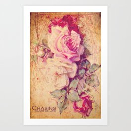 Pauline's Rose Wall Art Print