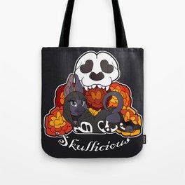 Skullicious Tote Bag