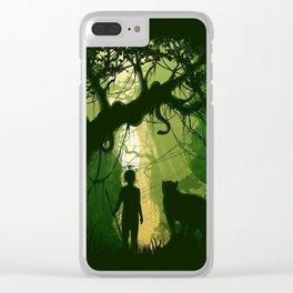 Jungle's Book Clear iPhone Case