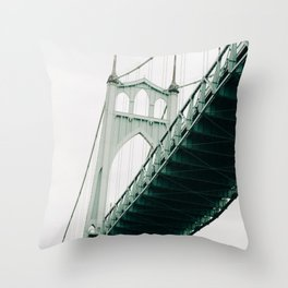 closing the gaps Throw Pillow