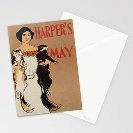 Harper's May 1898 Stationery Cards